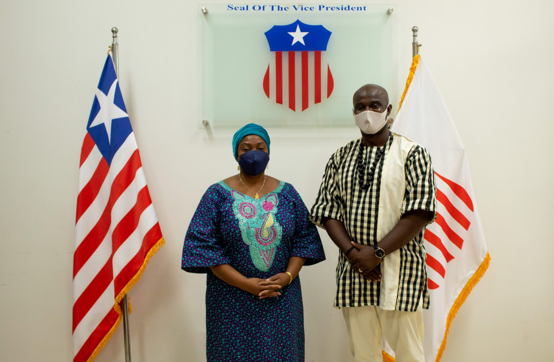 Vice President Taylor along with Bridge Liberia MD